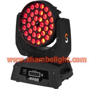 LED Stage Lighting/10W*36PCS RGBW LED Moving Head Zoom&Wash Stage Lighting pictures & photos