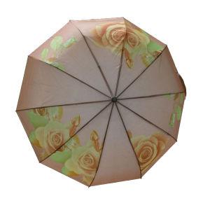 3-Fold Auto Open and Close Gift Umbrella (3FU023) pictures & photos