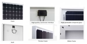 250W Poly Solar Panel for Solar Project pictures & photos