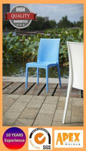 Plastic Wicker Chair for Outdoor and Garden Furniture pictures & photos
