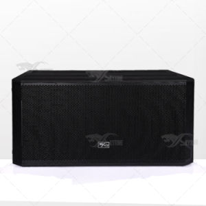 "Stx828s PA Sound System Dual 18"" Subwoofer Speaker Box pictures & photos"