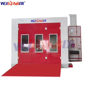 Wld8400 High Quality Downdraft Water Based Car Body Spray Painting Booth/Auto Spray Paint Booth pictures & photos