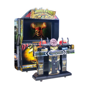 Hot Sale Deadstorm Pirates  2  Players Coin Operated Arcade Game Machine for Kids pictures & photos