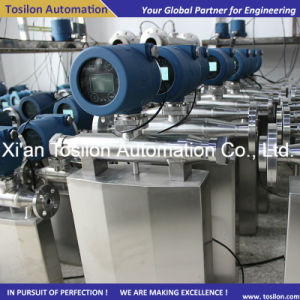 Sanitary Digital Coriolis Liquid Mass Flow Meter for Milk, Syrup pictures & photos