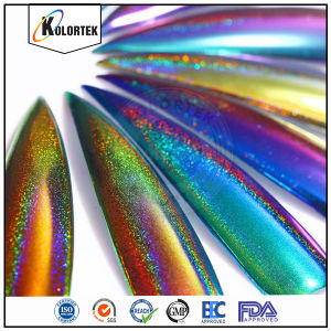 Color Shift Hologram Mirror Effect Nail Powder pictures & photos