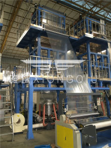 1100mm ABA 2 Layers Co-Extrusion Film Blowing Machine pictures & photos