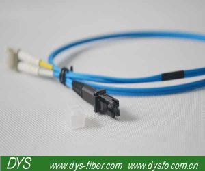 LC-MTRJ Fiber Optic Patch Cord Jump Cable pictures & photos