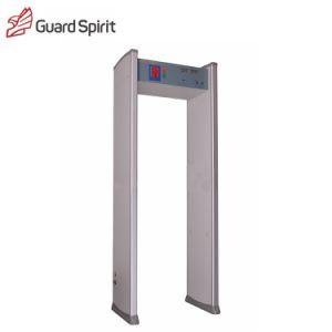 High Quality 6 Zones Walk Through Metal Detector Xyt2101-II pictures & photos