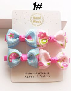 2017 Wholesale Bowknot Hair Clip Fashion Baby Hair Accessories pictures & photos