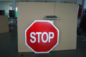 Solar Powered LED Solar Traffic Sign / Road Sign / Warning Sign pictures & photos