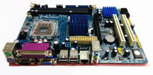 G41-775 Support 2*DDR3 OEM Mainboard pictures & photos