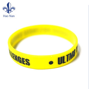 Wholesale Eco-Friendly Persnalized Custom Printed Silicone Bracelet pictures & photos