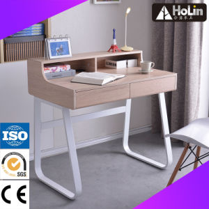 Home Office Furniture Wooden Computer Desk with Steel Frame pictures & photos