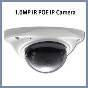 1.0MP Poe IR IP Mini Network Dome CCTV Security Camera pictures & photos
