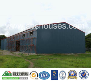 Professional Design Prefabricated Steel Structure Storage Warehouse Shed pictures & photos