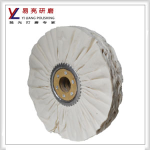 10inch 66pages Cloth Pleated Buffing Wheel pictures & photos