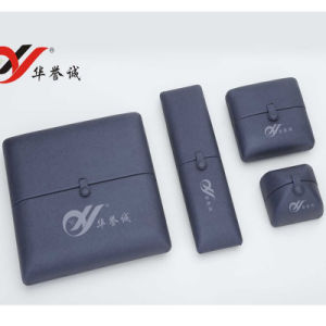 PU Leather Jewellery Box Packaging for Chain and Pendant Storage pictures & photos