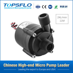 12V or 24V DC Mini Hot Water Centrifugal Pump Submersible Circulation Water Pump pictures & photos