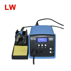 Quick 100W Temperature Controlled Soldering Solder Rework Station Iron Lw100 pictures & photos