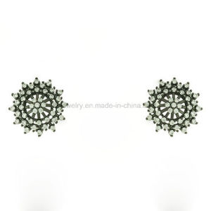 Latest Style Beautiful Snowflake Style Ear Stud with CZ (KE3209) pictures & photos