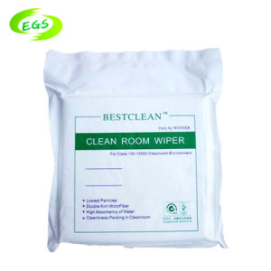 Environment Polyester Economical Clean Room Wipers with High Quality pictures & photos