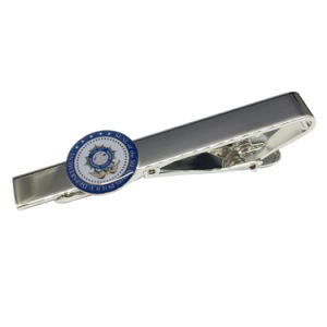 Hot Selling Customized Silver Soft Enamel Tie Clip pictures & photos