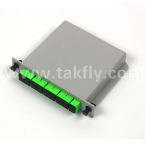 1X2/1X4/1X8 PLC Splitter in Lgx Cassette pictures & photos