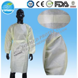 Disposable PE / PP+PE / CPE / SMS / PP Surgical Gown pictures & photos