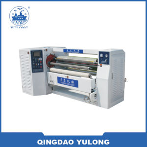 Double Shafts Tape Rewinding Machine pictures & photos