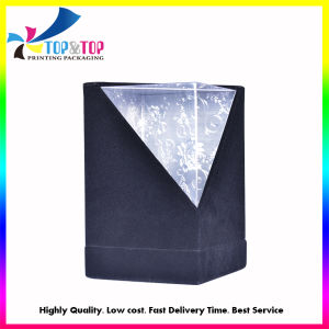 Luxury Black Velvet Paper Packing Boxes for Candles pictures & photos