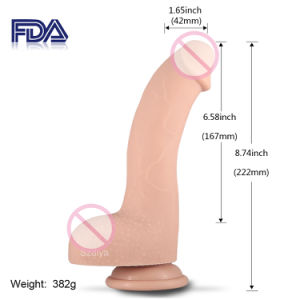 Hygienic Not Smell FDA Silicone Sex Male Dick Penis (DYAST425A) pictures & photos