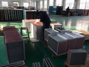Air Cooled Copper Tube Fin Type Refrigeration Unit Heat Exchanger pictures & photos