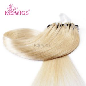 Wholesale Virgin Brazilian Hair Remy Micro Ring Hair pictures & photos