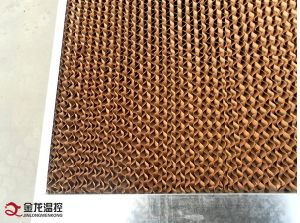 Poultry Evaporative Cooling Pad System / Cellulose Cooling Pad for Greenhouse pictures & photos