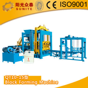 Block Making Machine, Hollow Brick Making Machine (QT10-15) pictures & photos