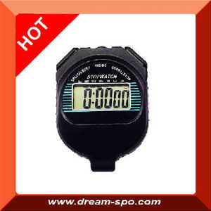 Digital Stopwatch with Wide Screen Demonstration (ST-80)