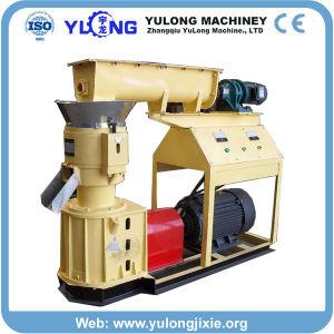 Skj300 300-500kg/H Wood Sawdust Pellet Press with Flat Die pictures & photos