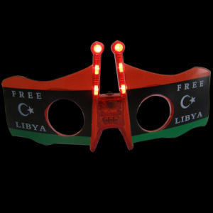 Italy Flag LED Flashing Glasses (QY-LS300L) pictures & photos
