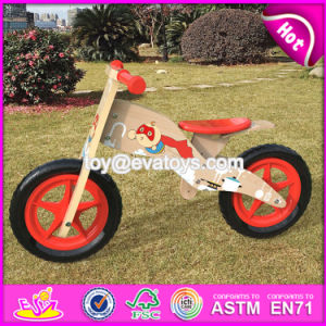 Best Design Original Work Balance Wooden Children Bicycle for Sale W16c176 pictures & photos