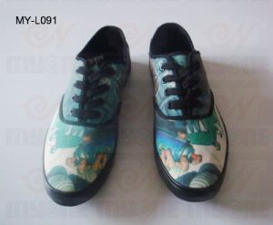 Vulcanized Graffiti Canvas Shoes (MY-L091)