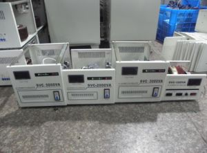 SVC Automatic Compensation AC Voltage Regulator pictures & photos