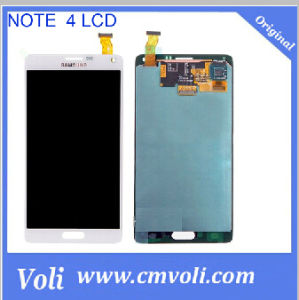 Mobile Phone LCD Touch Screen for Samsung Galaxy Note 4 pictures & photos