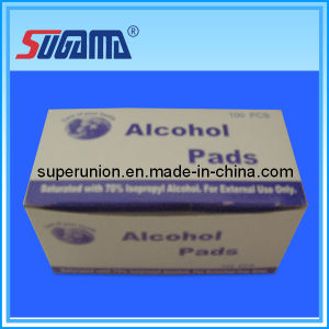Disposable Non Woven Alcohol Pad 3*6.5cm pictures & photos