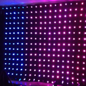 LED RGB 3in1 Video Cloth /LED Curtain Light/LED Vision Curtain P18cm pictures & photos