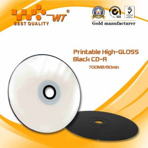 Printable CD-R High Capacity and Data Transfer Rate Made of PC Blank CD Disc