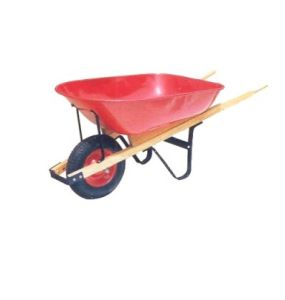 Wooden Handle and Big Tray for Wheelbarrow (WH6600) pictures & photos