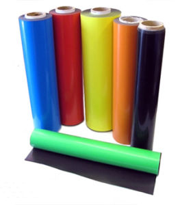 Flexible Rubber Magnet With PVC pictures & photos