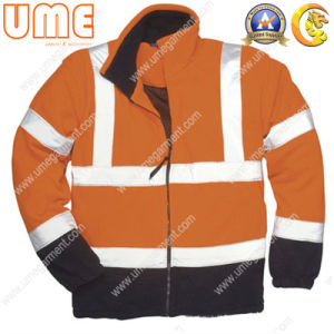 Hi-Vis Jacket with PU Coating and En343 En471 (UHVJ08)