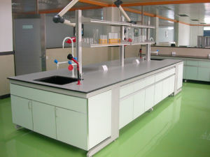 Hot Sale Steel Structure Laboratory Central Bench