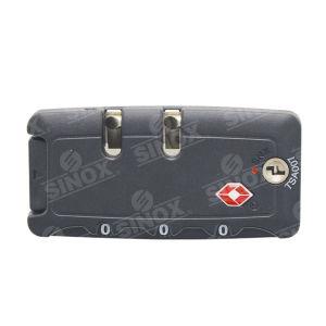 Tsa Luggage Traveling Zipper Locks with 2 Keys pictures & photos